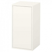 ЭКЕТ Шкаф с дверцей и 1 полкой,белый